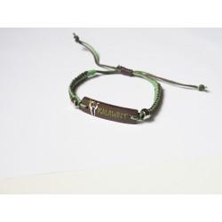 Bracelet artisanal rectangulaire