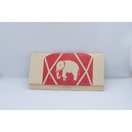 Porte-Feuille Eléphant