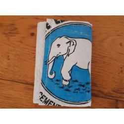 Petit Porte-Feuille Eléphant