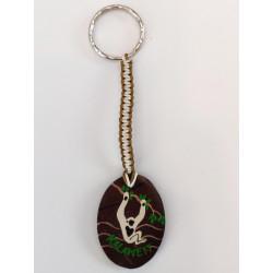 Bali artisanal Key ring